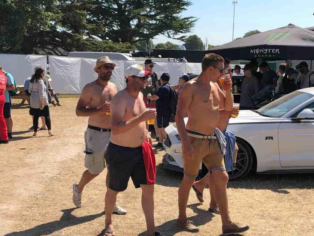 "Mein erstes Mal: Goodwood ""Festival of Speed"""