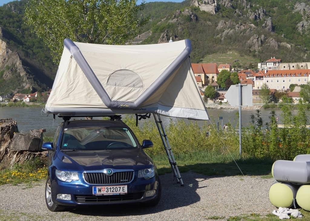 Aufblasbares Dachzelt: Gentle Tent GT Roof