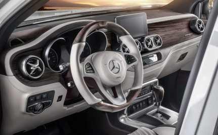 Die Mercedes-Benz X-Klasse als Yachting Edition by Carlex Design.
