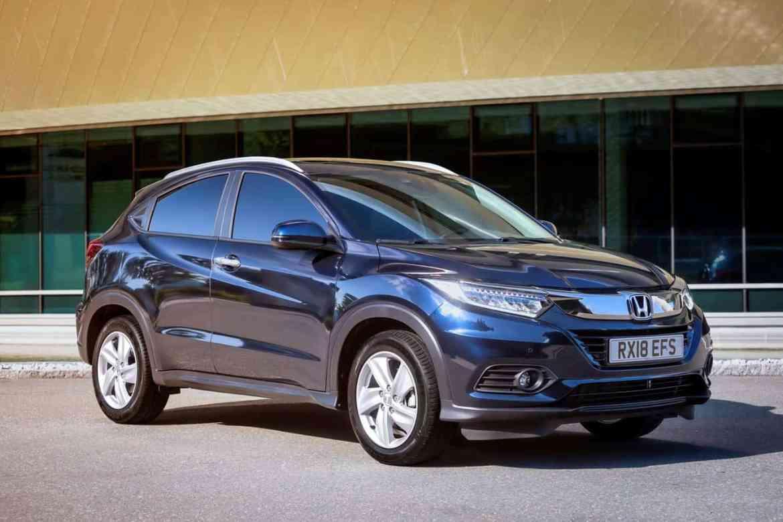 Honda HR-V auf dem Weg ins neue Modelljahr