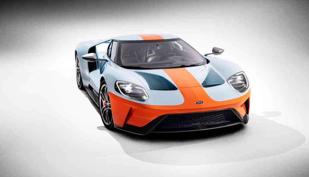 Neues Ford GT Heritage-Editionsmodell