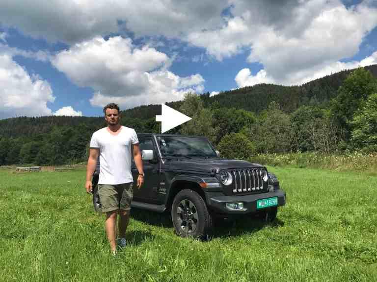 Der neue Jeep Wrangler (JL) - Fahrbericht im Bewegtbild