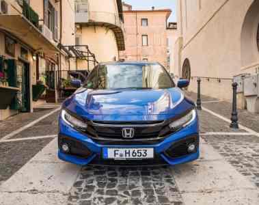 Honda Civic Diesel auch mit Neun-Gang-Automatik