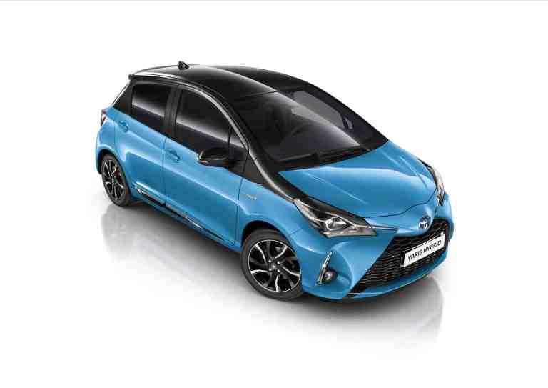 Toyota Yaris kommt als Sondermodell in Cyan