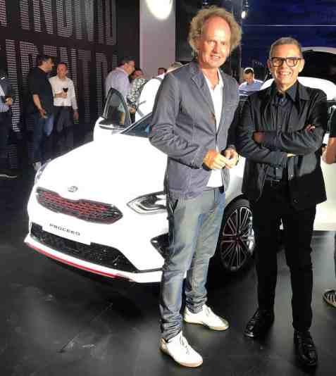 Dr Friedbert Weizenecker und Peter Schreyer