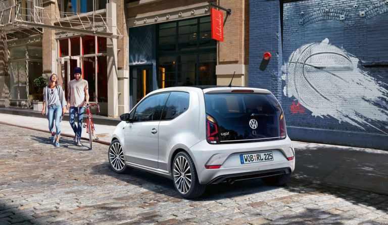 R-Line Paket macht den VW Up sportlicher