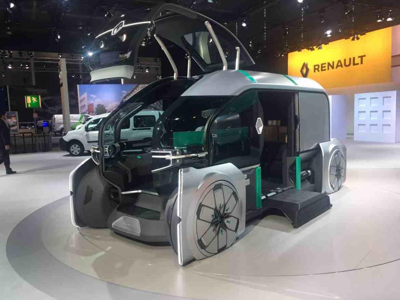 Renaut Studie EZ-PRO auf der Nutzfahrzeuge IAA: Vollautomatisches Logistikkonzept