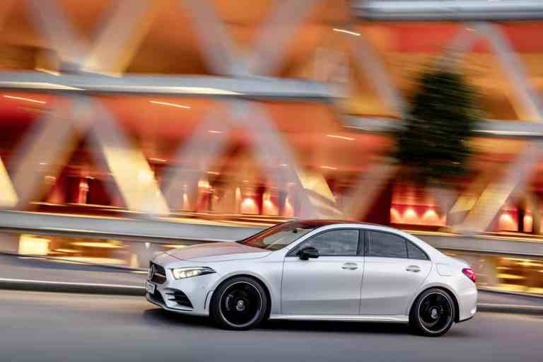 Daimler öffnet Orderliste für A-Klasse Limousine