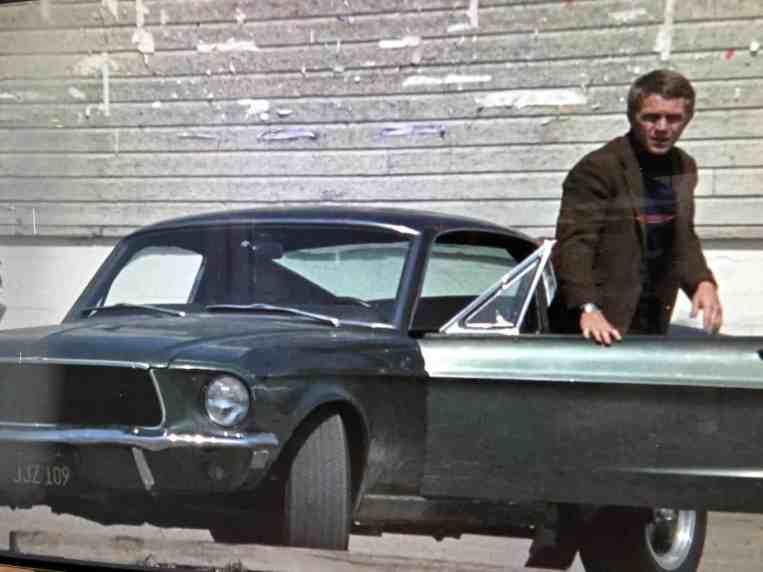 Ford Mustang Bullitt, Steve McQueen