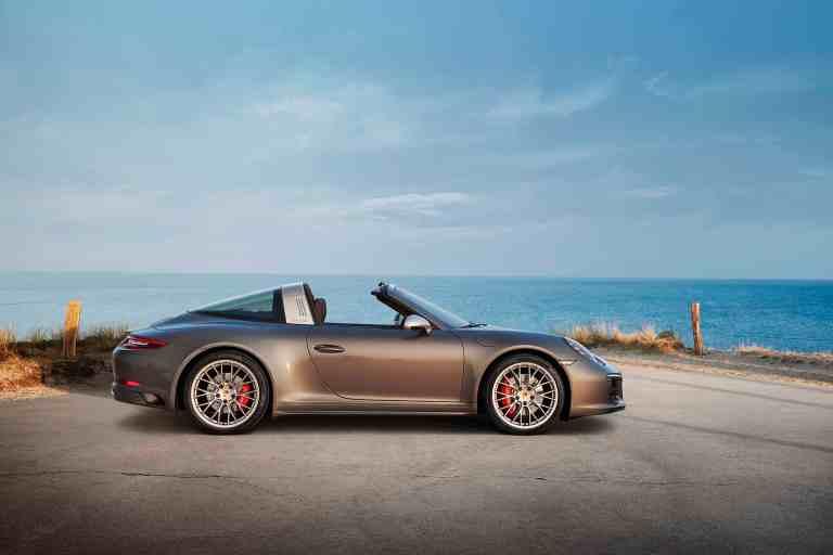 Porsche 911 Targa 4 GTS Exclusive Manufaktur Edition - Sondermodell für deutschen Markt: