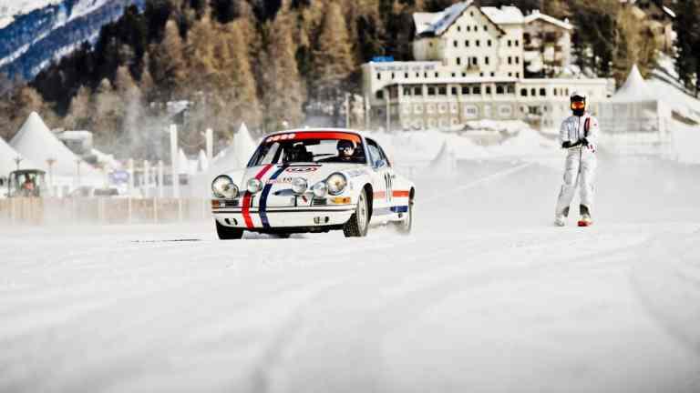 Nach 45 Jahren Pause wieder Eisrennen in Zell am See