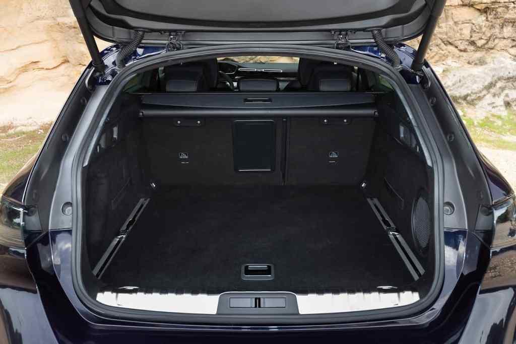 Peugeot 508 SW, Kofferraum