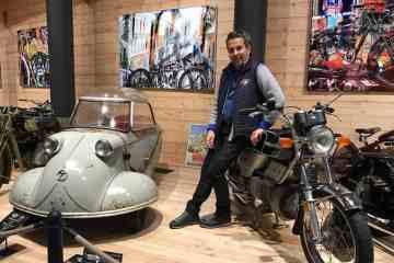 Motorradmuseum am Timmelsjoch, Attila Scheiber