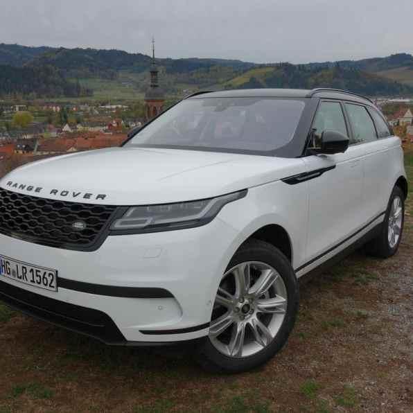 Range Rover Velar SE, Front