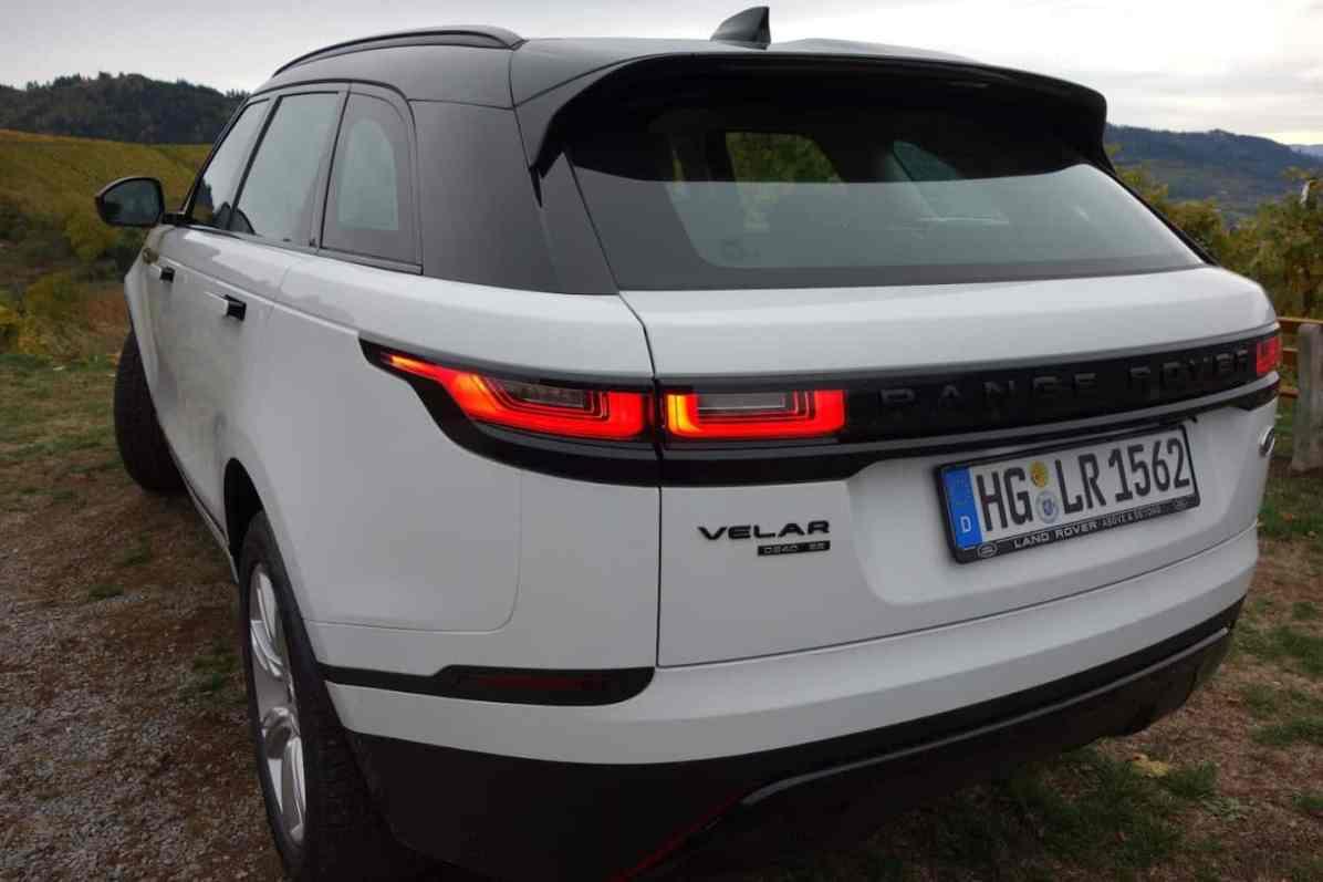 Range Rover Velar SE, Heck