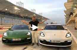 Porsche Panamera GTS vs. GTS Sport Turismo | Fahrbericht in Bahrain I Jan Weizenecker