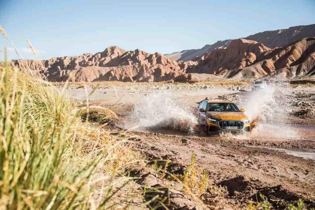 Mit dem Audi Q8 in der Atacama Wüste - Oder der Griff nach den Sternen