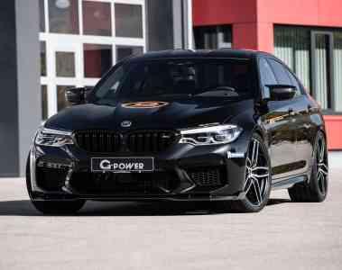 G-Power bringt den BMW M5 auf über 335 km/h
