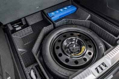 Ford Edge, Ersatzrad