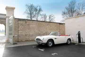Aston Martin Heritage EV-Konzept