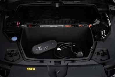 Audi e-tron, Staufach