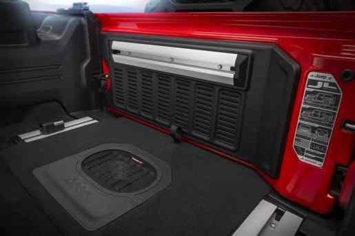 Jeep Wrangler Rubicon Interieur 2018