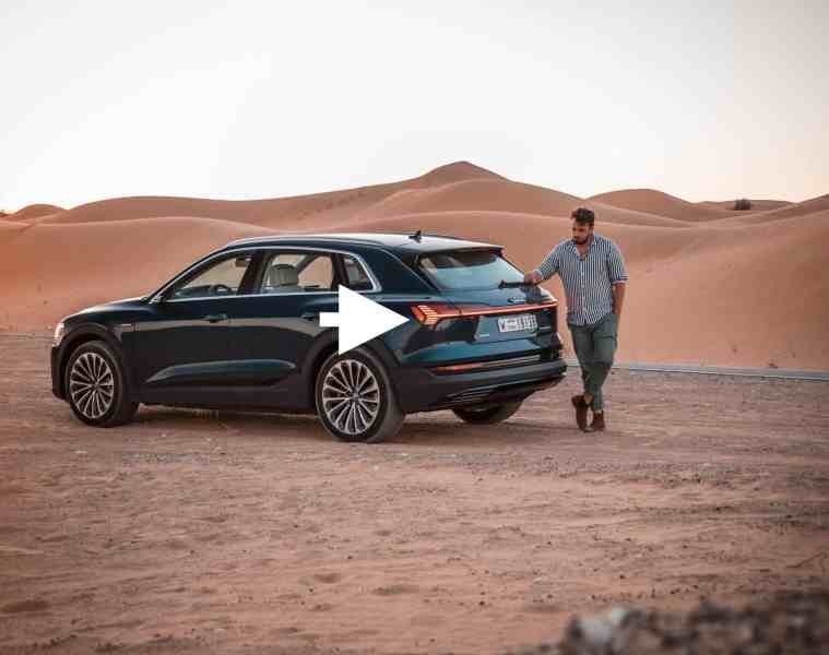 Audi e-tron 2019, Jan Weizenecker