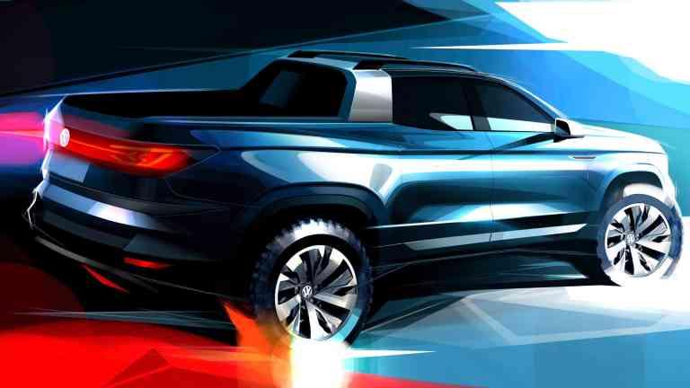 Volkswagen und Ford kooperieren, Volkswagen Pick-up Concept