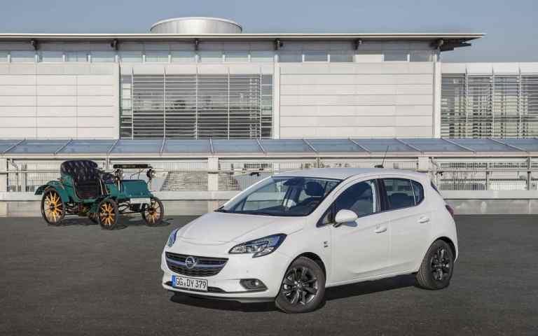 "Opel Corsa ""120 Jahre""-Sondermodell"