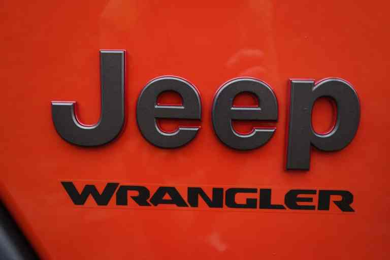 Jeep JL Wrangler (Modelljahr 2019)