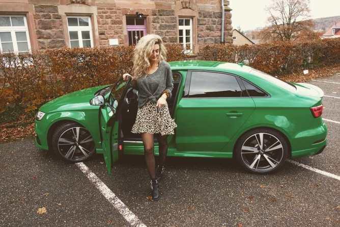 Audi RS 3 Limousine (400 PS), Nina Weizenecker