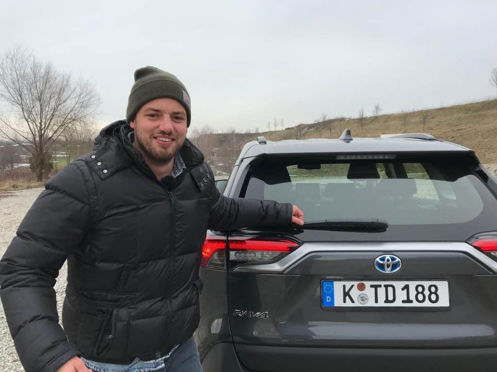 Toyota RAV4 2.5 Hybrid, Jan Weizenecker