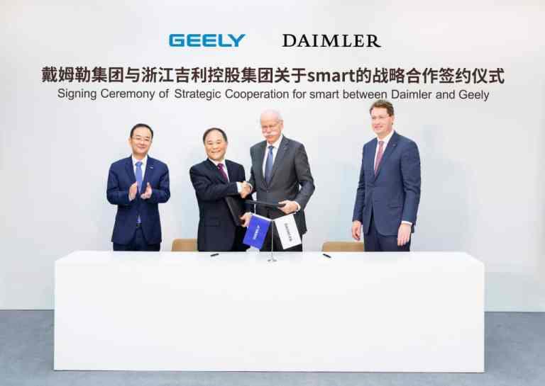 Smart und Geely