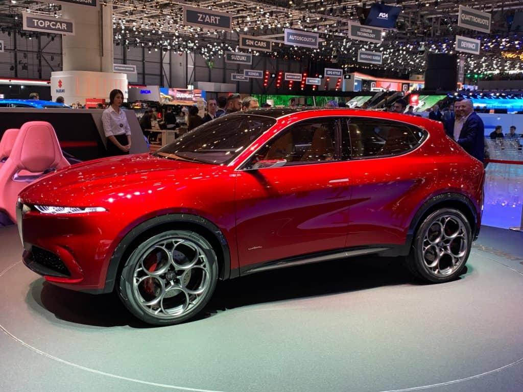 Alfa Romeo Tonale, 2019