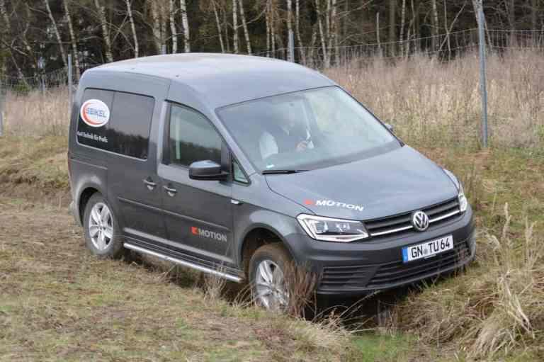 Offroad-Komponenten für den VW Caddy