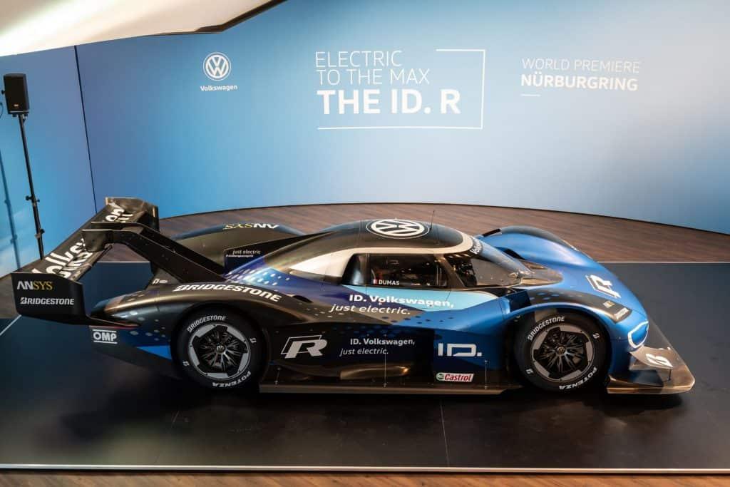 Elektro-Rennwagens ID. R
