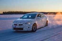 Im winterlichen Lappland muss der neue Opel Corsa - noch im Erlkönig-Tarnkleid - zeigen, was er kann.