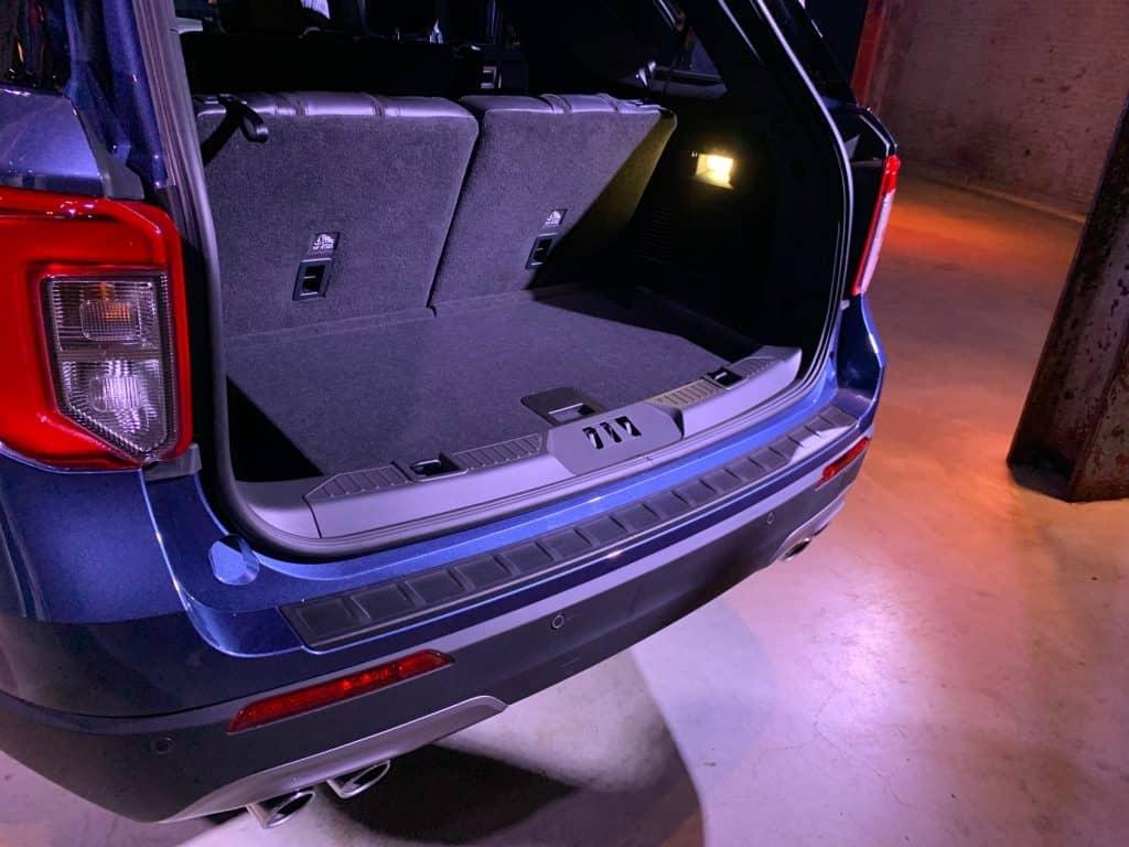 Ford Explorer, Kofferraum