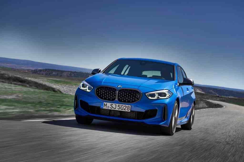 Der neue BMW 1er,