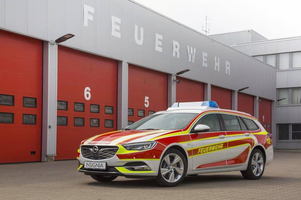 Opel Insignia Sports Tourer als Feuerwehr-Einsatzfahrzeug.