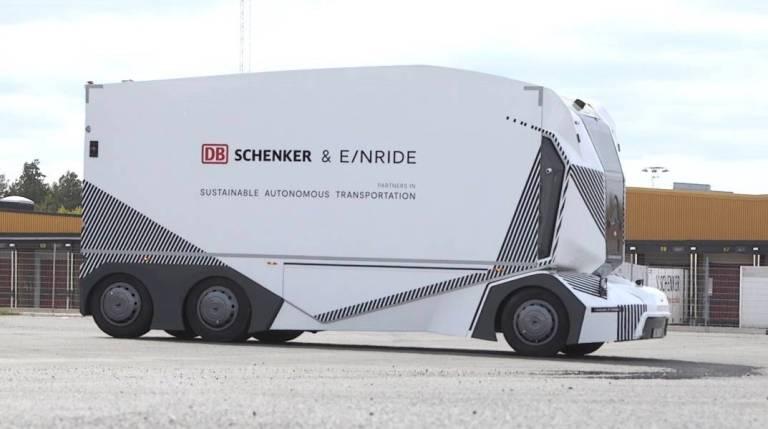 Einride T-Pod von DB Schenker.