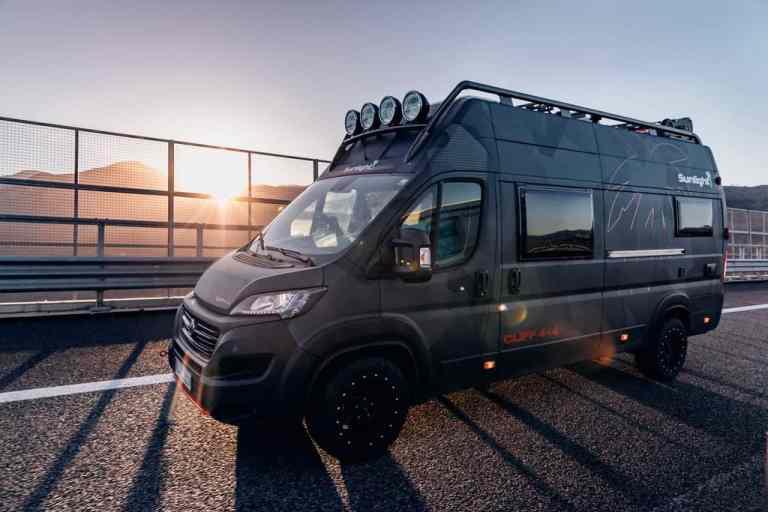 Sunlight Cliff 4x4 Adventure Van.