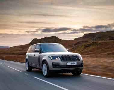 Range Rover mit neuem Reihensechszylinder Mild-Hybrid ins neue Modelljahr