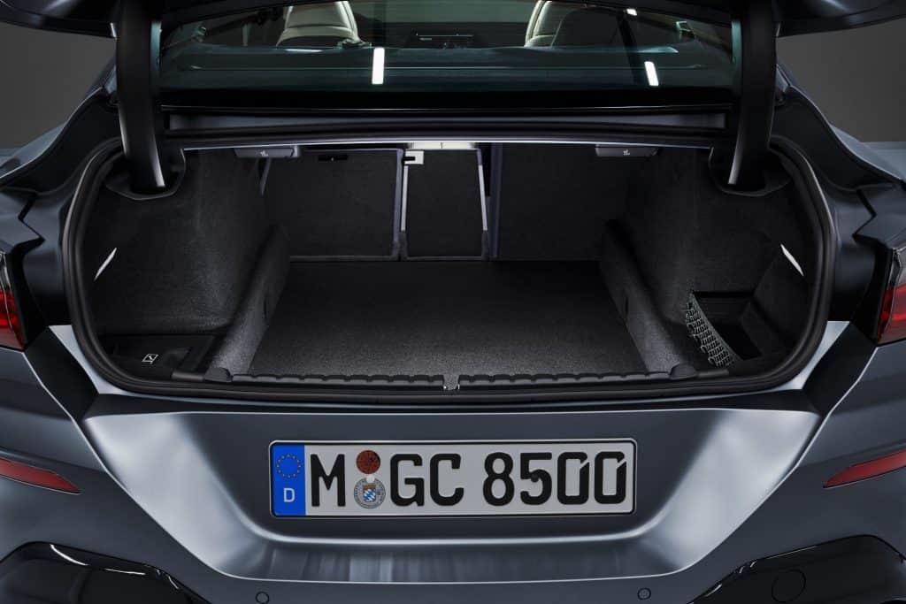BMW 8er Gran Coupé, Kofferraum