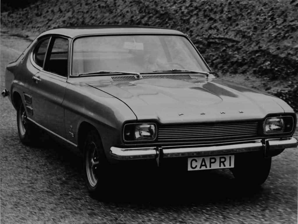 Ford Capri 1700 GT, 1969