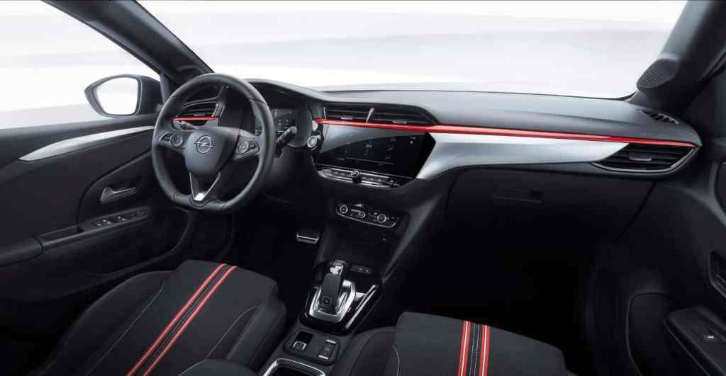 Opel-Corsa Cockpit