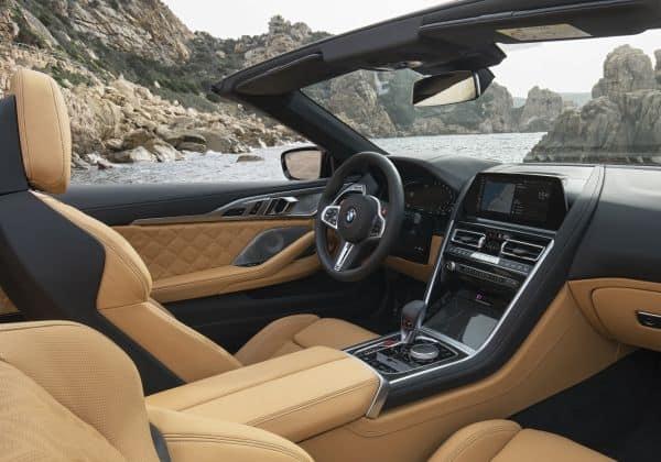 Das neue BMW M8 Competition Cabriolet - Interieur.