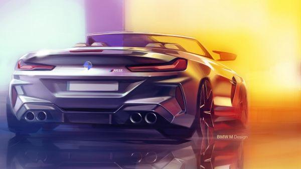 Der neue BMW M8 - Designskizzen (06/2019).