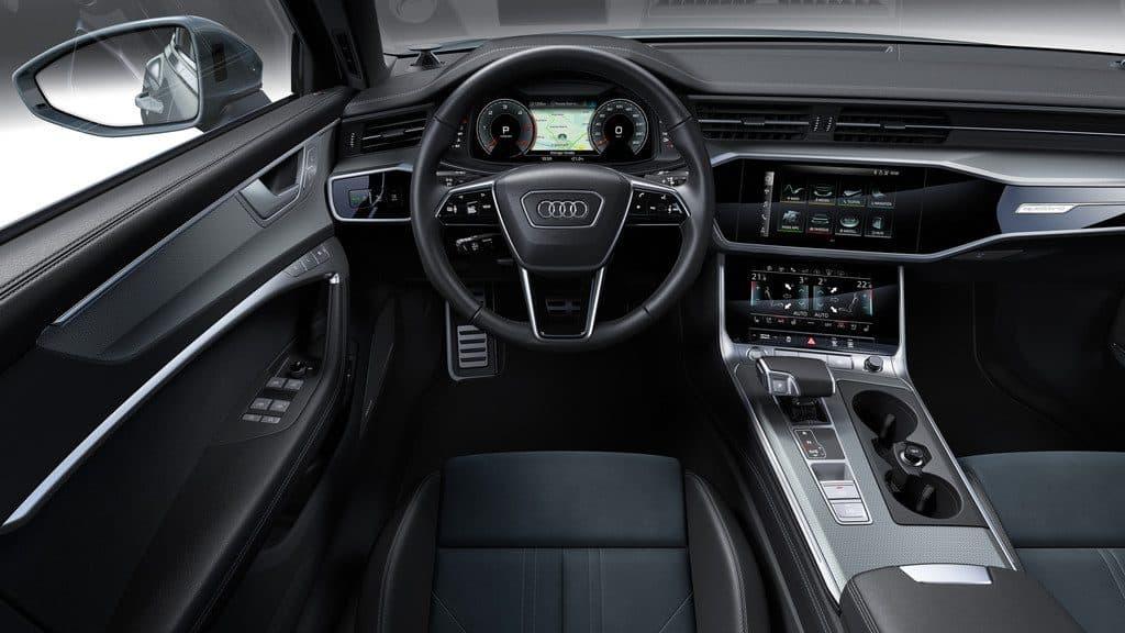 Audi A6 Allroad Quattro, Lenkrad