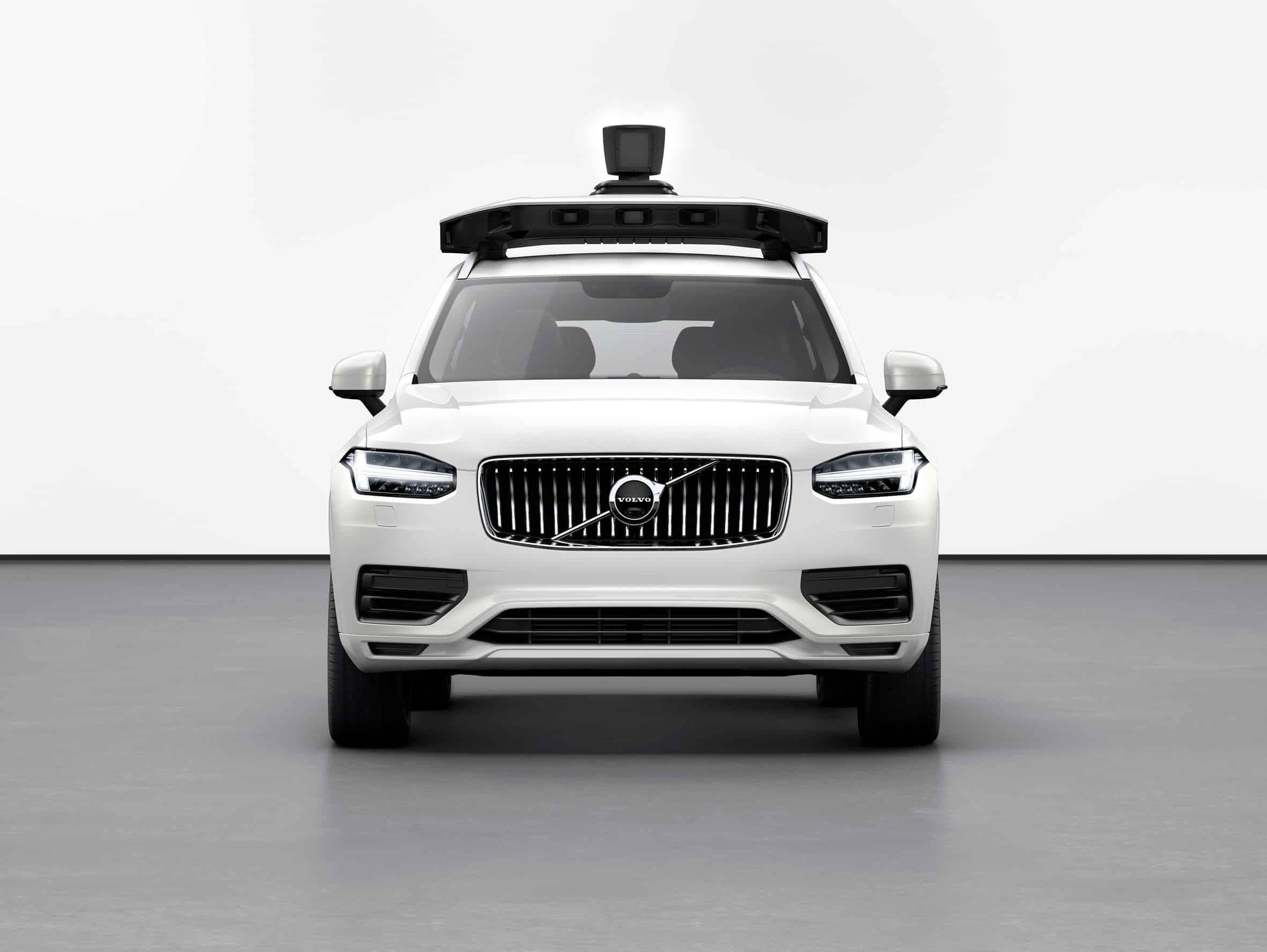 Volvo und Uber stellen selbstfahrenden XC90 vor